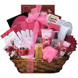 Rose Haven Bath and Body Spa Gift Basket