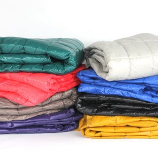 Ultralite Nylon Indoor/Outdoor Throw with Compact Travel Bag