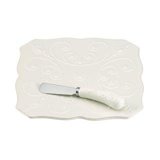 French Perle White Trivet