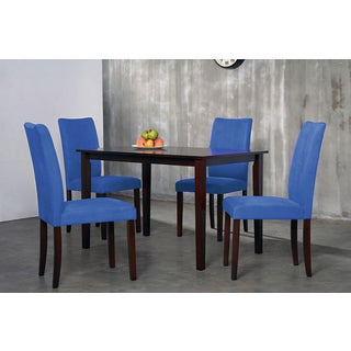 Warehouse of Tiffany 5-piece Royal Blue Shino Dining Set