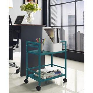 Altra Marshall 2-shelf Rolling Utility Cart