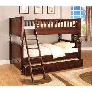 Radcliff Twin Over Twin Bunk Bed with Twin Trundle