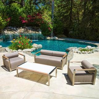 Christopher Knight Home Stella 4-piece Outdoor Set