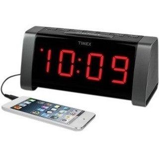 Timex Desktop Red LED Aux-in Clock Radio