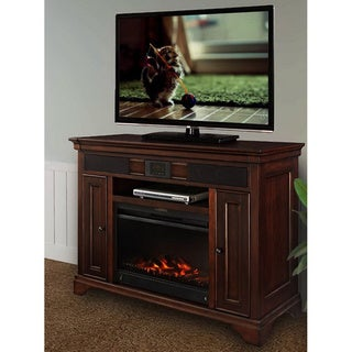 Mulberry Audio TV Fireplace Stand with built in Surround Sound