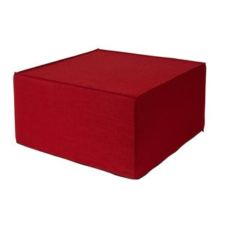 Softblock Very Berry 30-inch Outdoor Ottoman