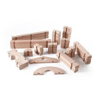 Guidecraft Notch Blocks Set 89-piece