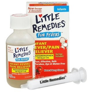 Little Remedies 2-ounce Natural Mixed Berry Fever/ Pain Reliever