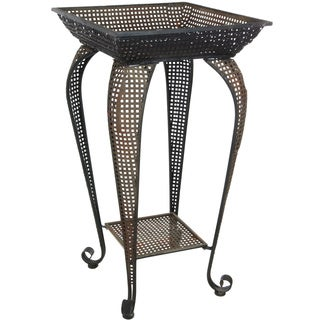 Perforated Square Iron Display Stand (China)
