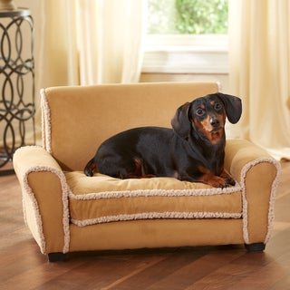 Enchanted Home Pet Club Chair Furniture Pet Bed