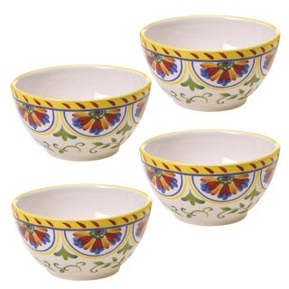 Amalfi 6-inch Ice Cream Bowl (Set of 4)