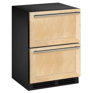 Wood Overlay 2-drawer Refrigerator