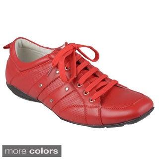 Boston Traveler Men's Square Toe Lace-up Shoes