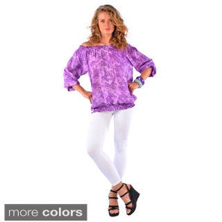 Women's Off-shoulder Long Sleeve Cover-up Top (Indonesia)