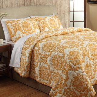 Eloisa Citrus Cotton 3-piece Quilt Set