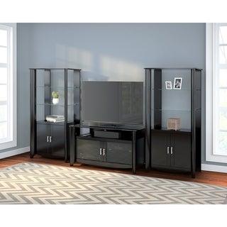 Aero TV Stand and Storage Shelf Set