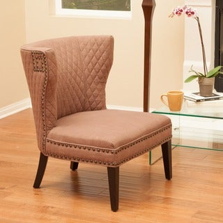 Christopher Knight Home Tessa Quilted Fabric Chair