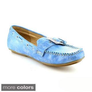 Nature Breeze Women's 'Mindie-20' Boat Shoes