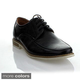 Mikoloti Men's Classic Square Toe Oxford Shoes