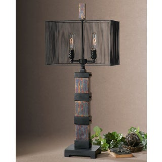 Uttermost Arcada Metal Poly Table Lamp