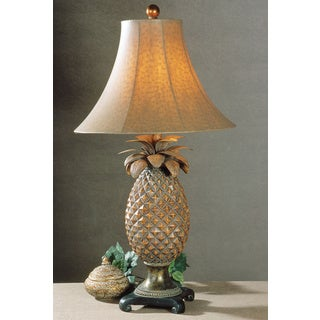 Uttermost Anana Pineapple Resin/ Metal Table Lamp