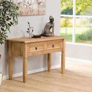 Aztec Mexican Pine Console