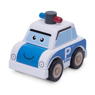 Build A Police Car Toy Vehicle