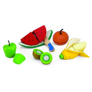 Cut and Peel Toy Fruit Set