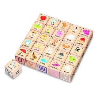 Wonder ABC Blocks Set (Pack of 26)