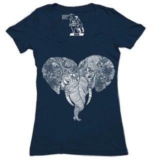 Punch Trunk Love Women's V-Neck Short-sleeve Top