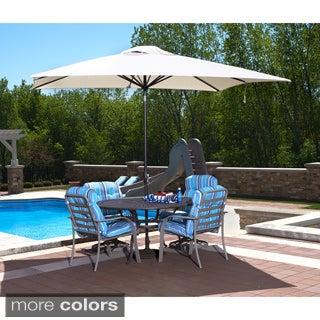 Caspian Rectangular Market Olefin Umbrella
