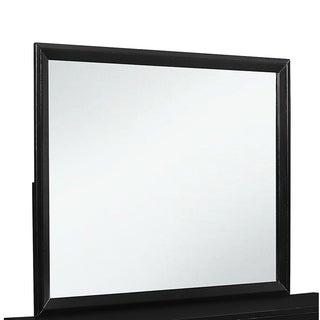 Black Carolina Mirror