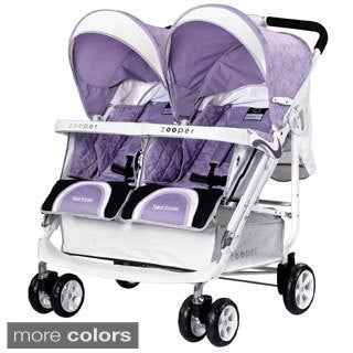Zooper Tango Escape Lightweight Double Stroller