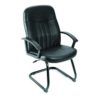 Boss Executive LeatherPlus Budget Guest Chair