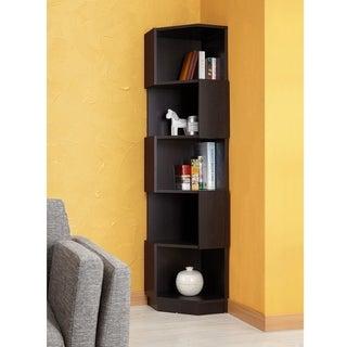 Mid century media bookshelves overstock shopping the for Furniture of america danbury modern
