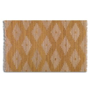 Uttermost Asmae Orange Hemp Rug (8' x 10')