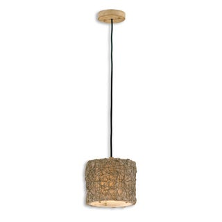 Uttermost Knotted Rattan Mini Hanging Pendant