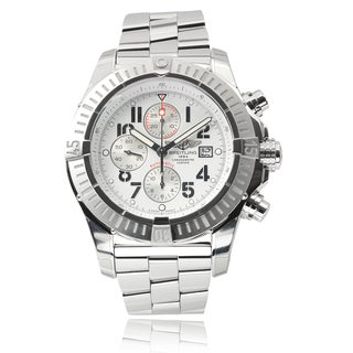 Breitling Men's Stainless Steel 'Super Avenger' Automatic Watch