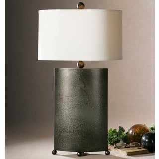 Uttermost Ruggine Burnished Metal Table Lamp