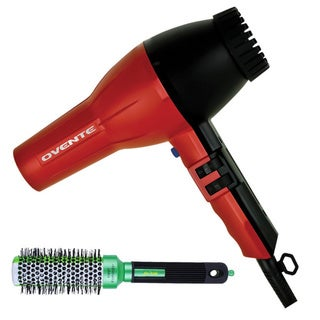 Ovente 3600 Professional Hair Dryer with Thermal Round Brush