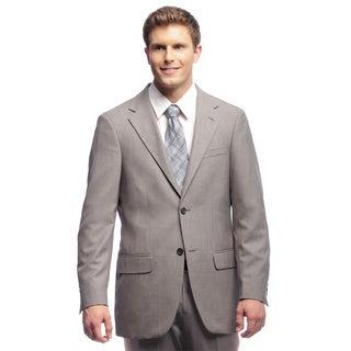 Dockers Men's Grey Sharkskin Suit Separates Coat
