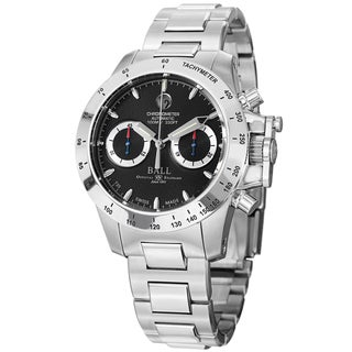 Ball Men's CM2098C-SCJ-BK 'Engineer Hydrocarbon' Black Dial Stainless Steel Magnate Watch
