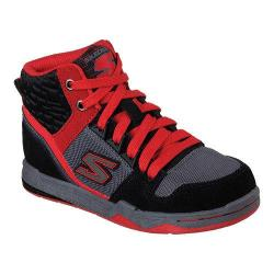 Boys' Skechers Gnarly Coasting High Top Black/Red