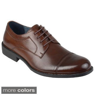 Steve Madden Men's 'Minted' Leather Lace-up Oxfords