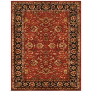 Feizy Abbey Red Navy Rug (9'3 x 13')
