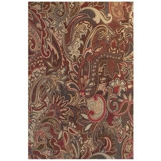 Feizy Salford Crimson Multi Rug (8' x 11')