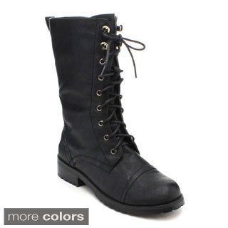 Nature Breeze Lug-11 Women's Mid-calf Boots