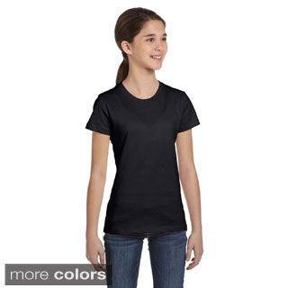 Girls Jersey Cotton Short Sleeve T-shirt