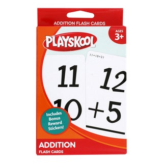 Playskool Ages 3+ Grade 1 'Addition' Flash Cards (36 Cards)