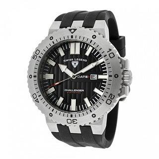 Swiss Legend Men's Challenger Black Watch SL-10126-01